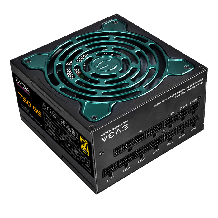 750 G5, 80 PLUS Gold 750W, ECO Mode, Fully Modular, ATX Power Supply