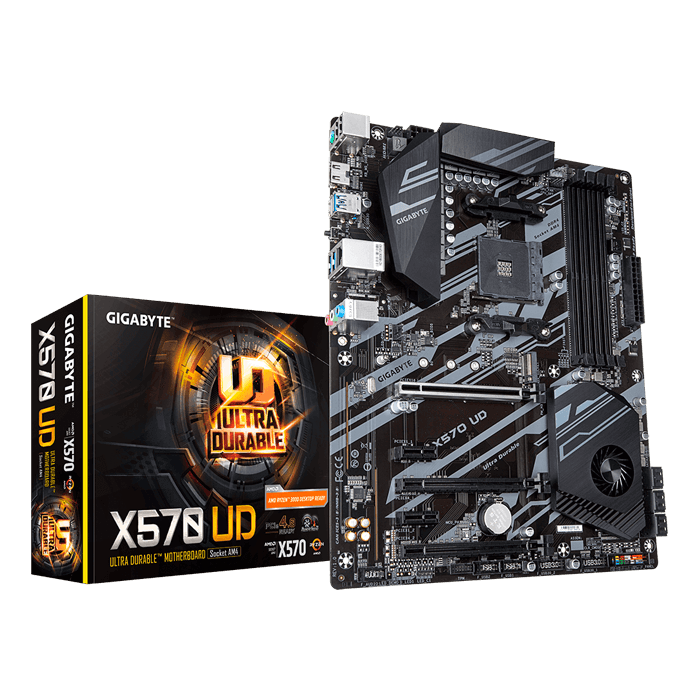 X570 UD, AMD X570 Chipset, AM4, HDMI, ATX Motherboard