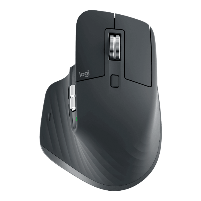 MX Master 3, 4000 dpi, Wireless 2.4GHz, Black, Optical Mouse