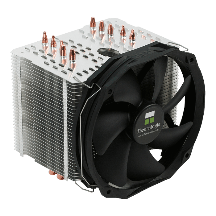 Macho Direct, 158mm Height, 200W TDP, Copper/Aluminum CPU Cooler