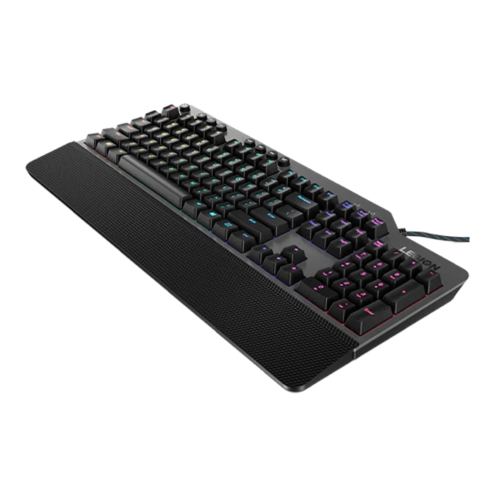 Legion K500 RGB, Red Switches, Wired USB, Iron Grey/Black, Mechanical Gaming Keyboard