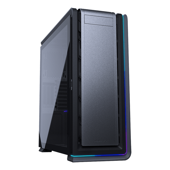 Enthoo 719 Tempered Glass, No PSU, E-ATX, Anthracite Grey, Full Tower Case