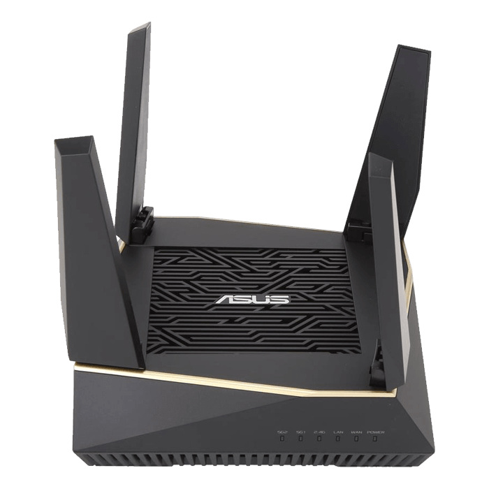 RT-AX92U, IEEE 802.11ax, Tri-Band 2.4 / 5GHz, 867 / 4333 / 4804 Mbps, 5xRJ45, USB 3.1, Wireless Router