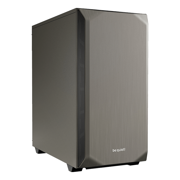 Pure Base 500, No PSU, ATX, Metallic Grey, Mid Tower Case