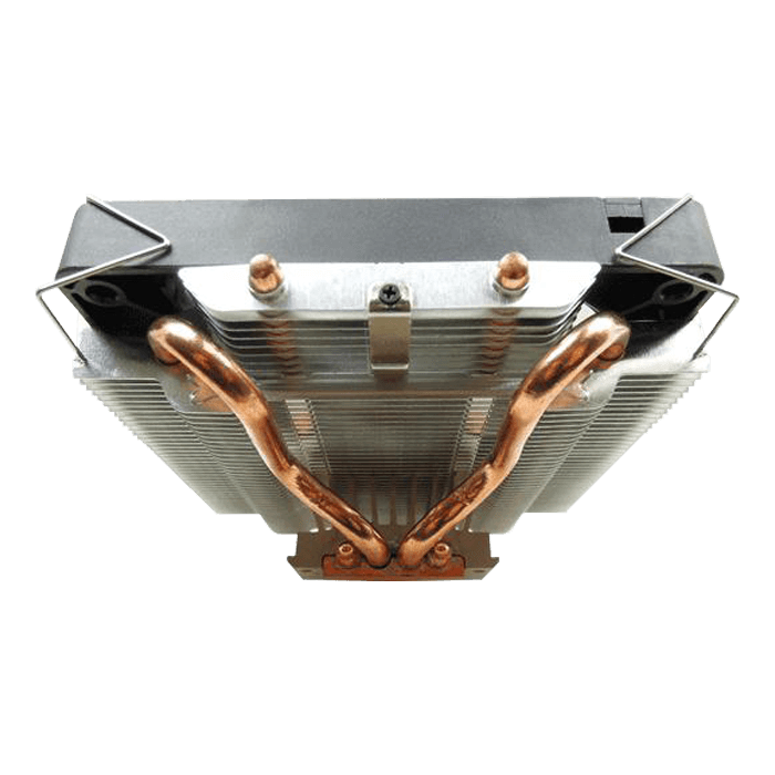 SlimHero CC-Shero-01-B, 59mm Height, 136W TDP, Aluminum/Copper CPU Cooler