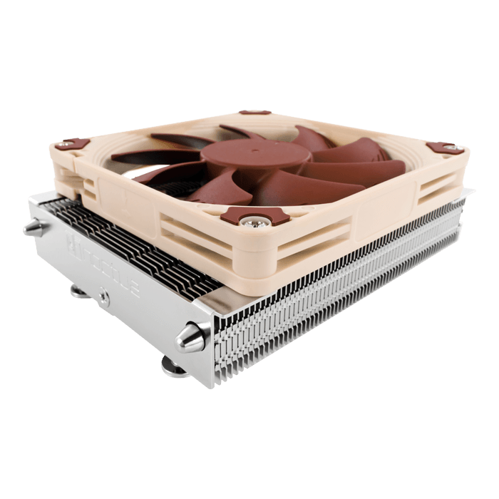 NH-L9a-AM4, 37mm Height, 95W TDP, Copper/Aluminum CPU Cooler