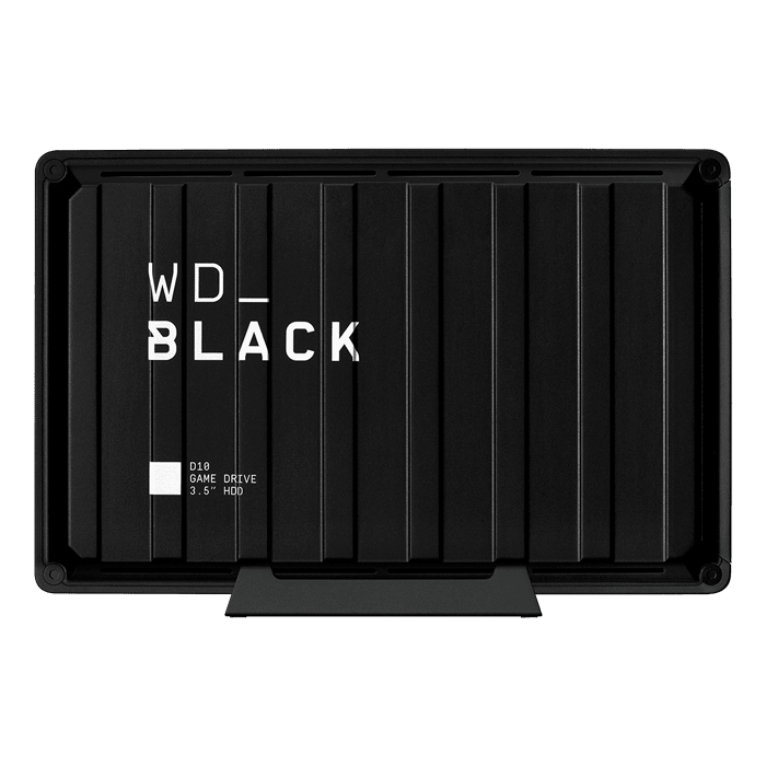 8TB WD_BLACK™ D10 Game Drive, USB 3.2 Gen 1, Portable, Black, External Hard Drive