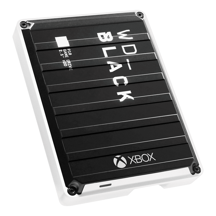3TB BLACK P10 Game Drive, USB 3.2 Gen 1, Portable, Black/White, External Hard Drive for Xbox One™