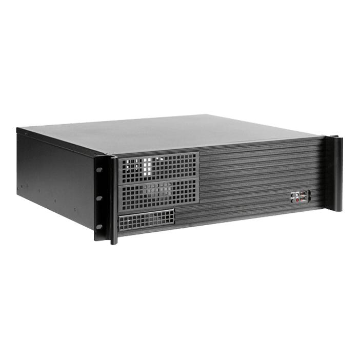 WD1880-D313SEMATX 18U 800mm Depth Simple Server Rack with 3U Compact Rackmount Chassis ATX Power Supply Compatible