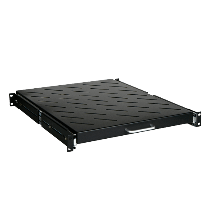 WNG2710-SFR96BDWR4UB 27U 1000mm Depth Rack-mount Server Cabinet with Heavy Duty Sliding Tray and 4U Sliding Drawer with Key Lock