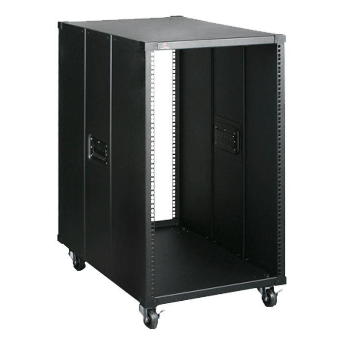 WD1880-D213MATX 18U 800mm Depth Simple Server Rack with 2U Compact Server/Desktop microATX Chassis