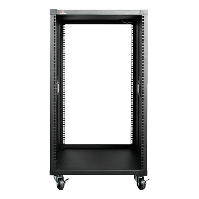 WD1880-D214MATX 18U 800mm Depth Simple Server Rack with 2U Compact microATX Rackmount Chassis