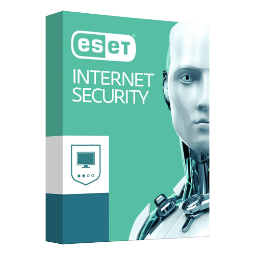 ESET Internet Security 1 Year, 3 PCs