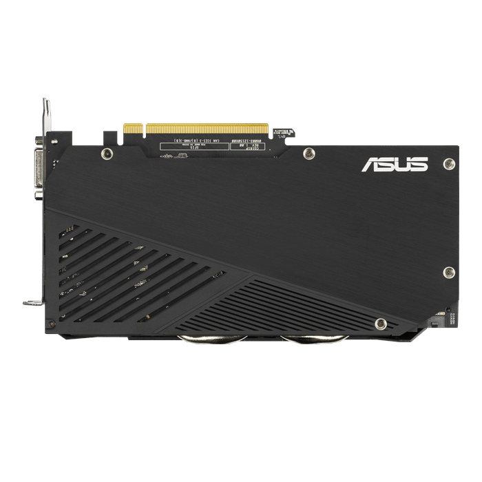 GeForce® GTX 1660 SUPER™ DUAL EVO OC, 1530 - 1860MHz, 6GB GDDR6, Graphics Card