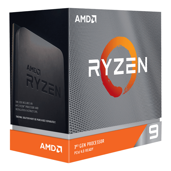 Ryzen™ 9 3950X 16-Core 3.5 - 4.7GHz Turbo, AM4, 105W TDP, Processor