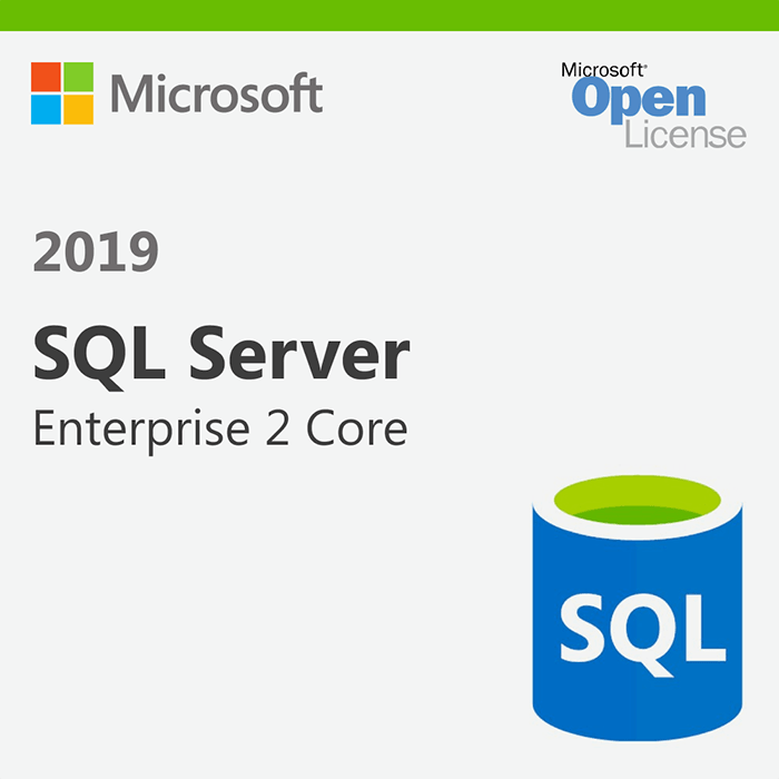 SQL Server 2019 Enterprise - license - Open License - 2 Core