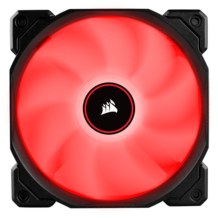 Air AF120 (2018) 3 x 120mm, Red LED, 1400 RPM, 52 CFM, 26 dBA, Cooling Fans