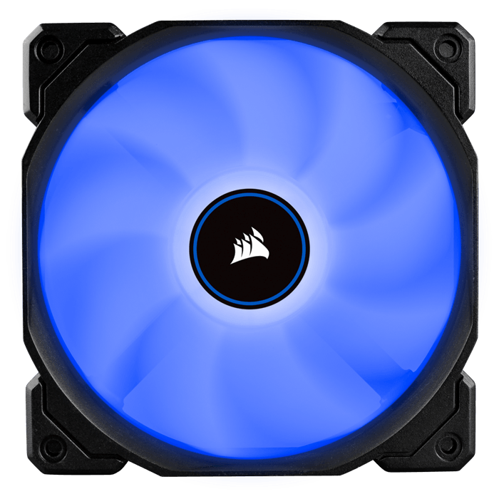 Air AF120 (2018) 3 x 120mm, Blue LED, 1400 RPM, 52 CFM, 26 dBA, Cooling Fans