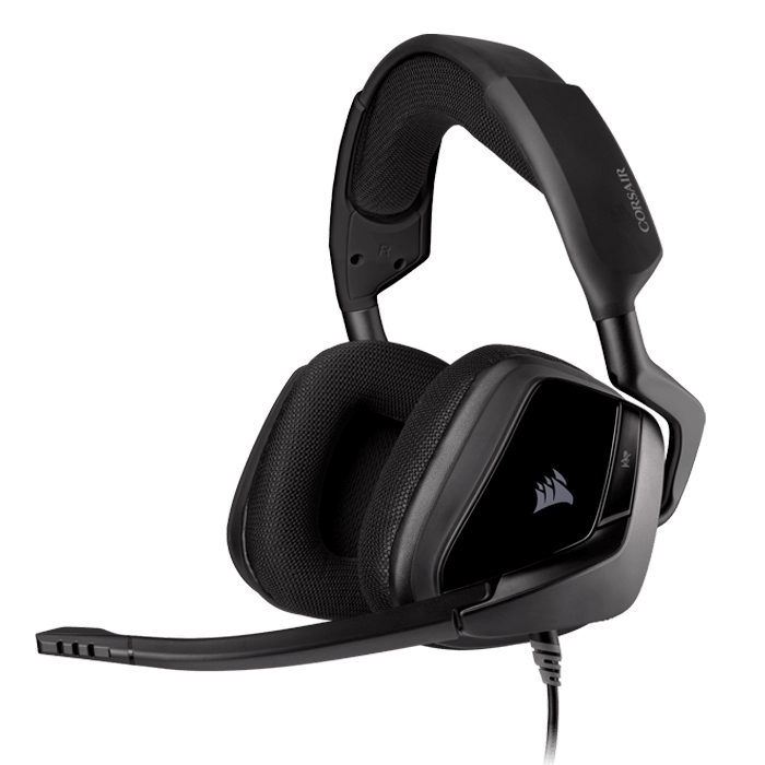VOID ELITE SURROUND Premium, 7.1 Surround Sound, Wired USB, Carbon, Gaming Headset