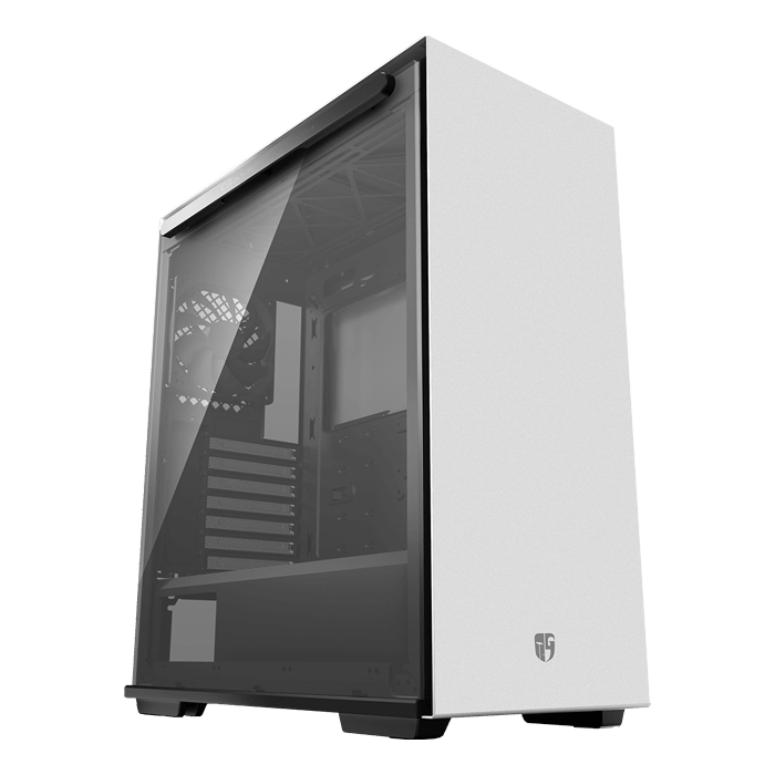 MACUBE 310 WH Tempered Glass, No PSU, ATX, White, Mid Tower Case