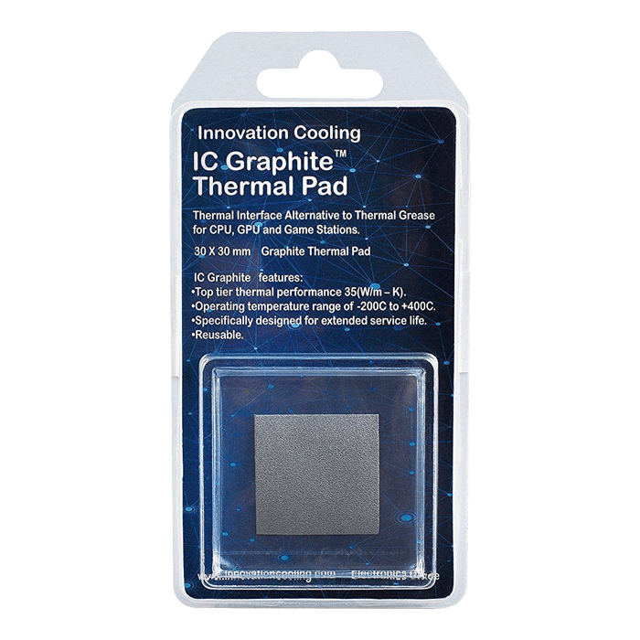 Graphite Thermal Pad – Alternative to Thermal Paste/Grease (40 X 40mm)