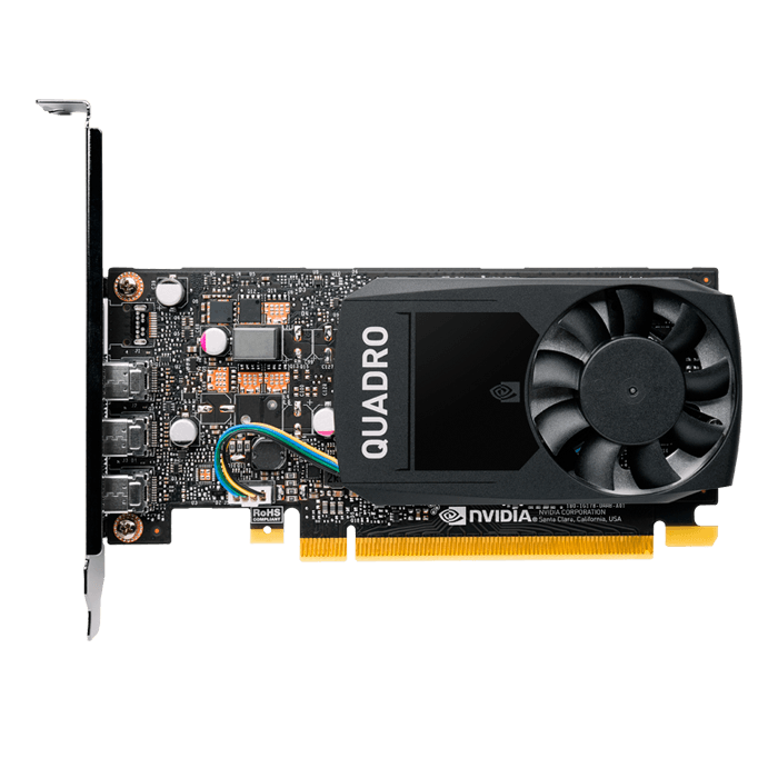 Quadro P400 V2 VCQP400V2-PB, 2GB GDDR5, Graphics Card