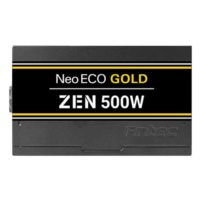 NE500G Zen, 80 PLUS Gold 500W, No Modular, ATX Power Supply
