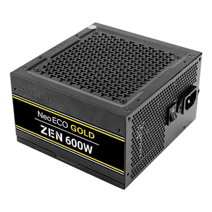 NE600G Zen, 80 PLUS Gold 600W, No Modular, ATX Power Supply