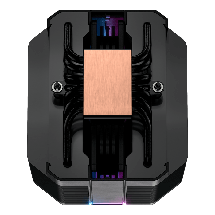 MASTERAIR MA620M, RGB LED, 165mm Height, 130W TDP, Copper/Aluminum CPU Cooler