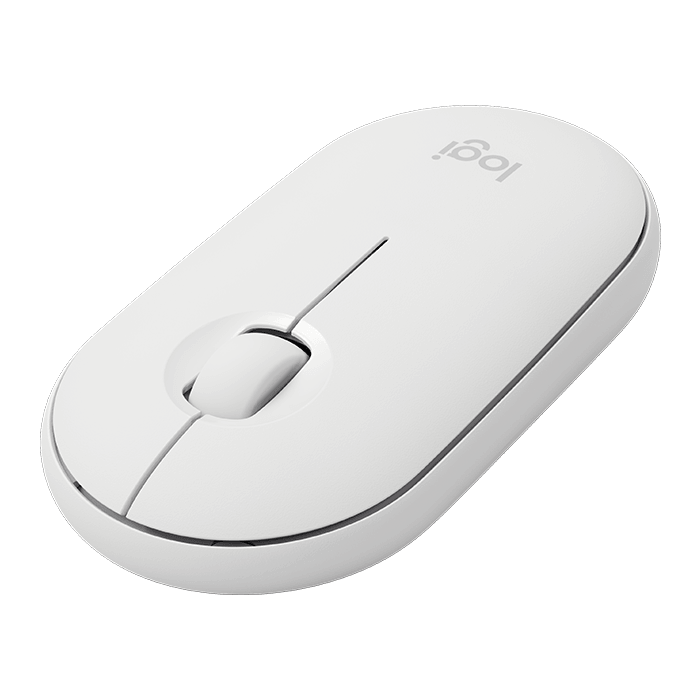 Pebble M350, 1000 dpi, Wireless 2.4GHz, White, Optical Mouse