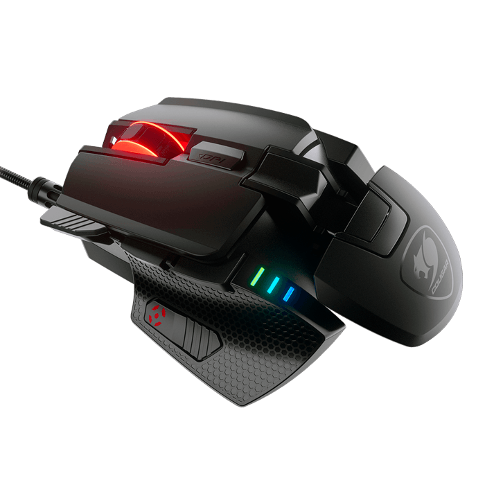 700M EVO, 16000dpi, Wired USB, Black, Optical Gaming Mouse