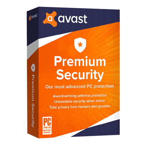 Avast Premium Security 10 Devices, 1 Year