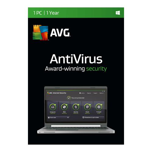AVG AntiVirus 1 PC, 1 Year