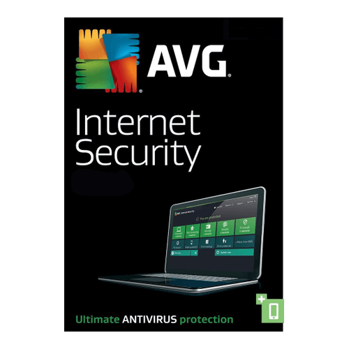 AVG Internet Security 3 PCs, 1 Year