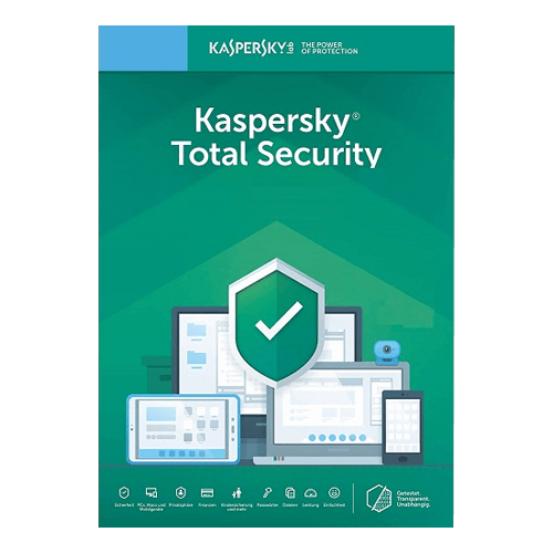 Kaspersky Total Security 1 Year, 3 Devices