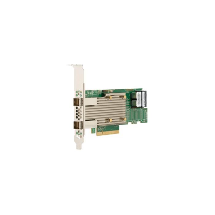 9400-8i8e, SATA/SAS/PCIe (NVMe), 16-Port, PCIe 3.1 x8, Host Bus Adapter