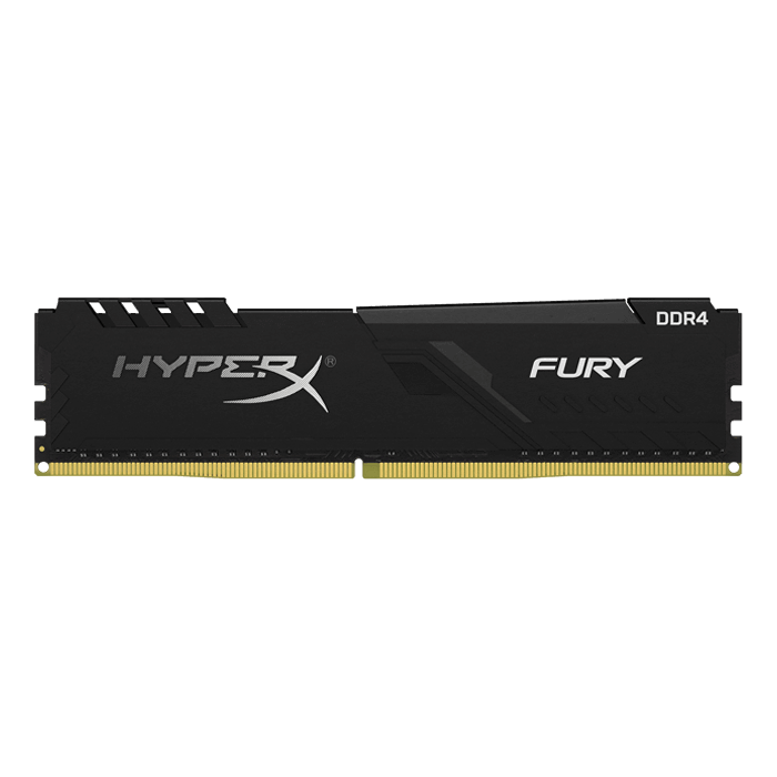 8GB HyperX FURY DDR4 3733MHz, CL19, Black, DIMM Memory
