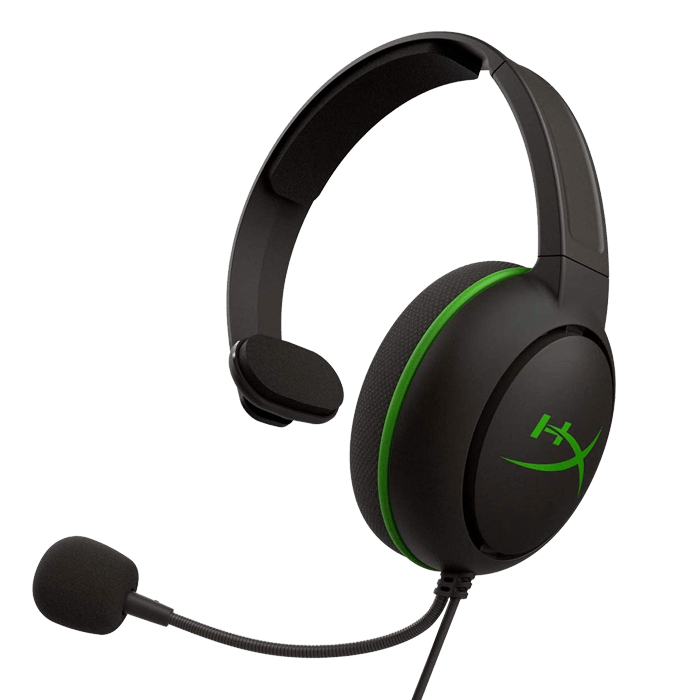HyperX CloudX Chat, 3.5mm, Black/Green, Gaming Chat Headset For Xbox