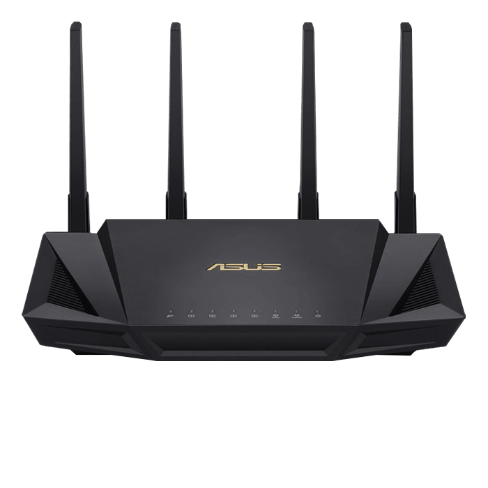 RT-AX3000, IEEE 802.11ax, Dual-Band 2.4 / 5GHz, 574 / 2402 Mbps, 4xRJ45, USB 3.1, Wireless Router