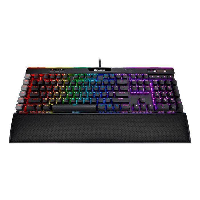 K95 RGB PLATINUM XT, RGB LED, Cherry MX Brown, Wired USB, Black, Mechanical Gaming Keyboard