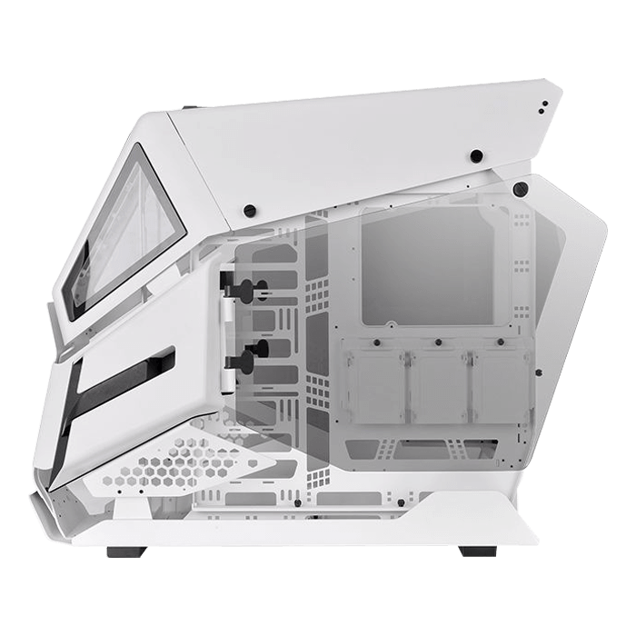 AH T600 Snow, Tempered Glass, No PSU, E-ATX, White, Full Tower Case