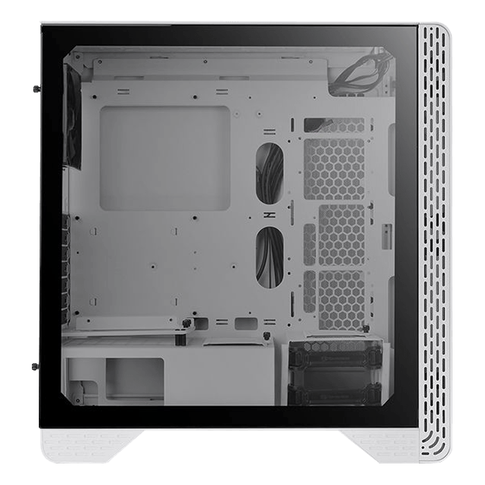 S300 Snow, Tempered Glass, No PSU, ATX, White, Mid Tower Case