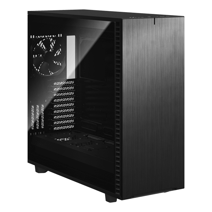 Define 7 XL Dark Tempered Glass, No PSU, E-ATX, Black, Full Tower Case