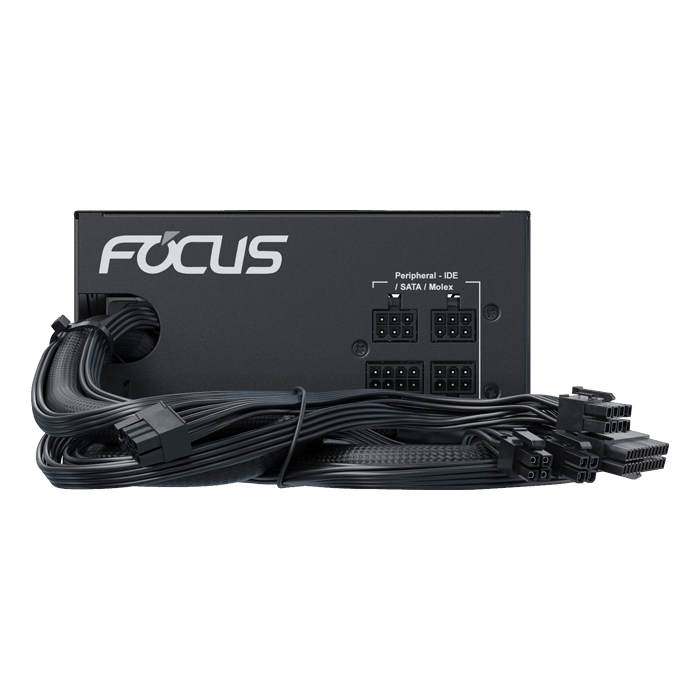 FOCUS GM-650, 80 PLUS Gold 650W, Semi Modular, ATX Power Supply