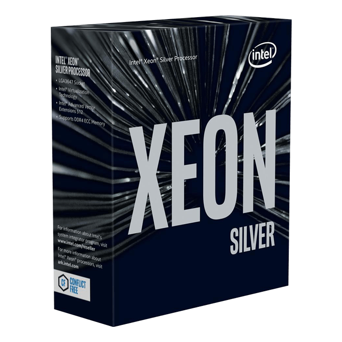 Xeon® Silver 4214R 12-Core 2.4 - 3.5GHz Turbo, LGA 3647, 2 UPI, 100W, Retail Processor