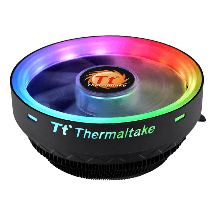 UX100 ARGB, 61.1mm Height, 65W TDP, Aluminum CPU Cooler