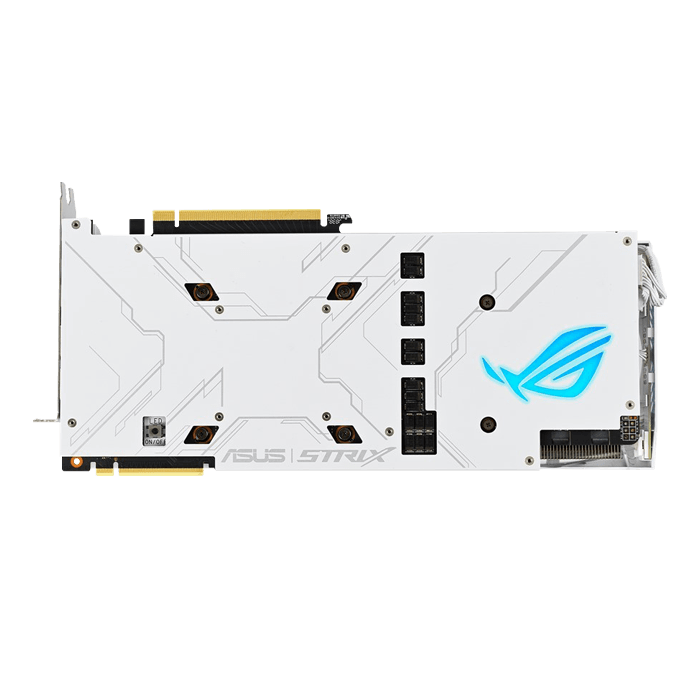 GeForce® RTX 2080 SUPER™ OC White ROG-STRIX-RTX2080S-O8G-WHITE-GAMING, 1650 - 1890MHz, 8GB GDDR6, Graphics Card