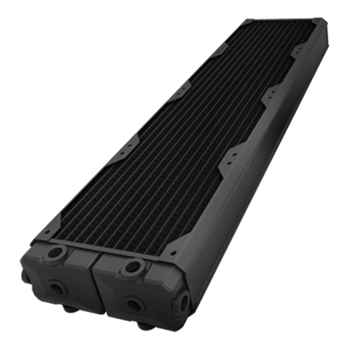 Black Ice SR2 Multiport Black Carbon Radiator - 560mm