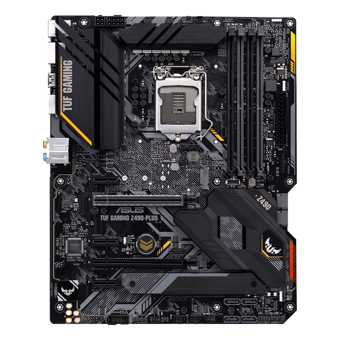 TUF Gaming Z490-Plus, Intel® Z490 Chipset, LGA 1200, DP, ATX Motherboard