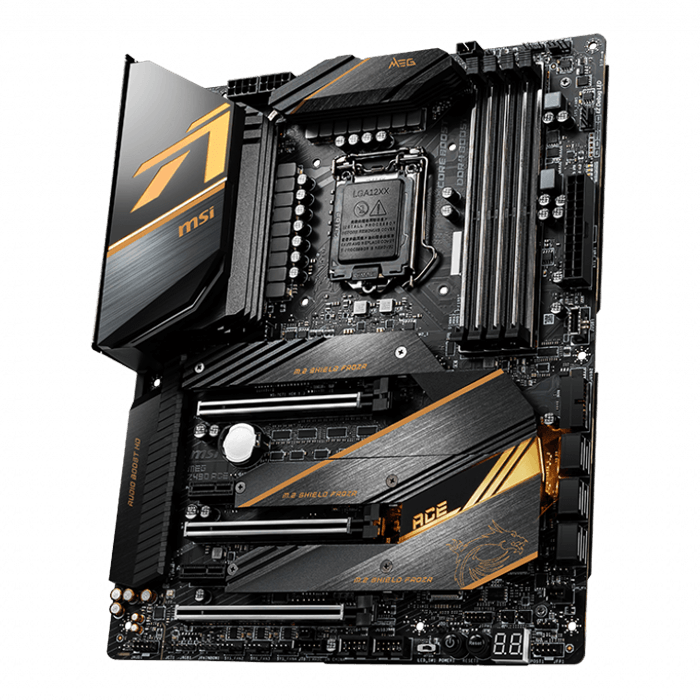 MEG Z490 ACE, Intel® Z490 Chipset, LGA 1200, ATX Motherboard